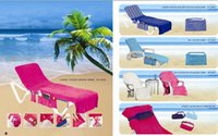 Wholesale Single Shoulder Beach Bag Classic Beach Chair Cover Solft Cotton Popular In The Beach Chair Cover
