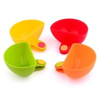 Wholesale Dip Clips Kitchen Bowl kit Tool Small Dishes Spice Clip For Tomato Sauce Salt Vinegar Sugar Flavor Spices