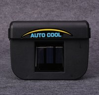 Wholesale 2017 hot sell DHL v w Solar Power Auto Car Cool Air Conditioning Cooler Fan