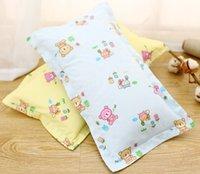 Wholesale 2016 New CM CM Cute Cartoon Baby Pillow Organic Cotton kids Pillows Protection Of Children