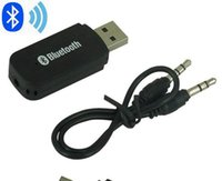 Wholesale 500set USB Wireless Bluetooth mm Music Audio Car Handsfree Receiver Adapter