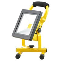 Wholesale 10W W W W Portable Rechargeable Cordless LED Work Light Rechargeable Flood Light Waterproof Emergency Light Trouble Light