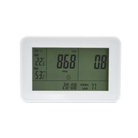 air carbon dioxide - in1 CO2 Carbon Dioxide DesktopMonitor Indoor Air Quality Temperature Relative Humidity RH ppm Clock Li battery inside