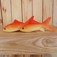 Wholesale Simulation Perch saury sturgeon Perch red carp shark small yellow croaker Mandarin Marine museum gift Aquariums Fish