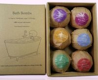 Scented bath and holiday - 60G box explosion of salt suits Holiday gift suit Romantic and sweet atmosphere bath salt
