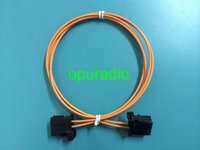 Wholesale new optical fiber cable most cable cm for BMW Audi AMP Bluetooth car GPS car fiber cable for nbt cic g g g
