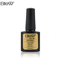 acrylic topcoat - Elite99 ml UV Gel Top Coat Top it Off Nail Gel Polish Top Gel Sealer Topcoat for UV Curing Acrylic Nail Art Glossy Coating