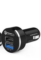 Wholesale Quick Charge Technology Car Charger Port USB Smart Fast Charging with Auto Detect Technology for Android Phone and Iphone