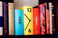 antique book pricing - At a low price pc New Arrival Book Set Desk Clock Novelty Item Karlsson Books Clock Home Deccoration