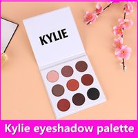 Wholesale 2017 Kylie Eyeshadow Kit Colors Kyshadow Eye Shadow Palette Bronze Preorder Kylie Jenner Cosmetic Eye Makeup Christmas Gifts K001