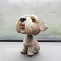 Wholesale Cute Car Shaking His Head Dog Ornaments To Drive Vehicle Furnishings Decoration