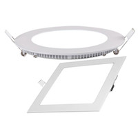 9W No LED Competitive price New square led recessed panel lamp aluminum plastic ceiling panel with 4w 6w 9w 12w 18w AC85-265V