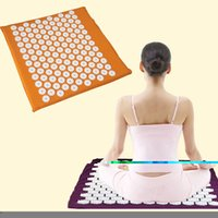 acupuncture acupressure - Factory price Acupuncture massage mat Massager cushion for shakti acupressure acupuncture mat yoga mat cm