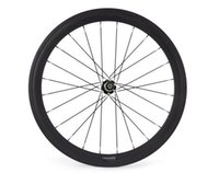 Wholesale 700C mm K or UD weave carbon fiber bike wheels with Novatec or Powerway hub speed available