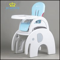 Wholesale Baby baby dining chair chair multifunctional dining table and chair to eat children s plastic split is convenient and practical