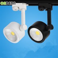 Wholesale High Power W LED Track Light W LED Spotlight Equal to W Halogen Lamp AC85 V COB Rail Light