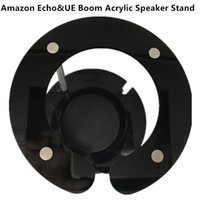 Wholesale 2017 Acrylic Speaker Stand for Amazon Echo UE Boom and Other Models Protect and Stabilize Alexa