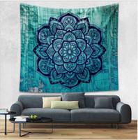 Wholesale Whoelsale Indian Elephant Tapestry Bohemian Wall Hanging Tapestries Mandala Beach Throw Towel Yoga Mat Gypsy Carpet cm