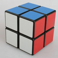 Wholesale 2X2X2 Sengshou Magic ABS Ultra smooth Professional Speed Cube Puzzle Twist Smooth PVC Paster x5x5cm free ship