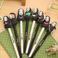 Wholesale Japan Hayao Miyazaki Cartoon Gel Ink Pen Promotional Gift Stationery Novelty Needle Fountain Pen Office School Supplies