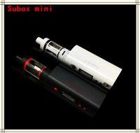 Wholesale Top quality Subox mini starter kit W mod subtank mini tank Kbox W mod subtank kangertech starter kit