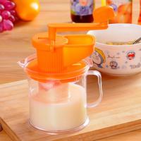 al por mayor exprimidor máquina multifuncional-Multifuncional pequeño hogar Juicer máquina mano leche de soja Mini juicer bebé jugo de fruta máquina