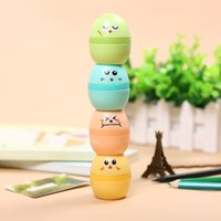 Wholesale Korean Cute Plastic Egg Design Pencil Sharpener Creative Stationery Gift for Kids Student Supplies