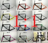 carbon bike frame - 2017 New Model Cipollini NK1K Carbon Road Bike Frame glossy matte1K K frameset fork seatpost clamp Racing Bicycle Frame