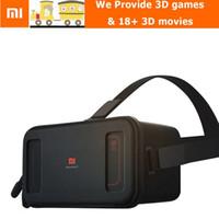 Wholesale In Stock Xiaomi VR Original Mi Box Virtual Reality D Immersive Headset Cardboard for inch Phone