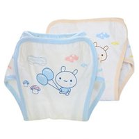 Wholesale Bamboo fiber gauze diaper Baby cotton gauze Leakproof diaper diaper The surface of cotton baby diapers