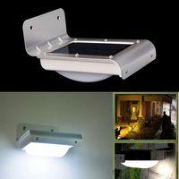 Wholesale 24led solar induction lamp body sensor lights v w lm courtyard lamp wall lamp aisle Motion Sensor Light Motion Detection Path