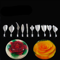 Wholesale 10 set High Quality Gelatin Art Tools Gracilaria Jelly D Jello Cake Tools B1
