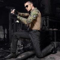 Wholesale Hot Sale IX9 Tactical Men Pants Combat Trousers SWAT Army Military Pants Men Cargo Trousers For Men Military Style Casual Pants