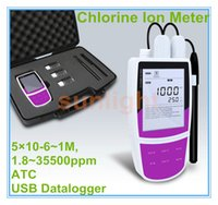 Wholesale Portable Chlorine Ion Meter with USB Datalogger M ppm