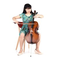 Wholesale Cello Solid Wood Matte Finish Basswood Face Board with Bow Rosin Carrying Bag for Students Music Lovers