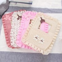 Wholesale Key Cellphone Storage Bags Cute Bear Girl Switch Stick Storage Bags for Women with Cotton Polyester