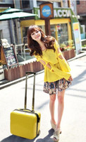 Wholesale small convenient Business Travel Suitcase Trolley Travel Bag On Wheels Boarding Luggage Tote Backpack