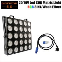 Wholesale Freeshipping W RGB IN1 LED Matrix X9W Blinder Light DMX DMX Channel X5 Stage Audience TIANXIN Scanner Light TP M25 RGB