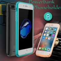 battery backup lighting - For Iphone mah External power bankrechargable battery case for Iphone light weight power backup polymer battery power case