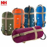 Wholesale Mini Ultralight Multifuntion Portable Outdoor Envelope Sleeping Bag Travel Bag Hiking Camping Equipment g