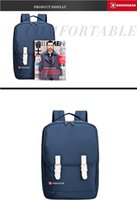 Wholesale high quality inch laptop bag multi layer separation material the fashion leisure business package