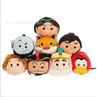 0-12 Months aladdin toy - Tsum Tsum Mini Aladdin Collection Plush Toys Abu Genie Plush pendant Brinquedo Menina doll