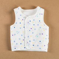 Wholesale Baby cotton vest dress factory spring winter children Kanjian small vest thickening