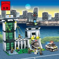 Wholesale 2017 Enlighten Anti explosion police office Building Blocks Mind and Hands Active Model Assemble Eductional Toys Gift Legeo Compatible