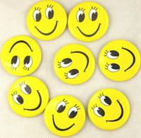 Wholesale Smiling face expression brooch variety of mixed clothing accessories men women creative small gift students Badge