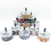 ash trays - Newest Appearance Design Variety Upgrade Portable Practical Spinning Black Rotation Plain Cigarette Ash Tray Push Down Smoking