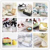 Wholesale Scented snow soap Creative wedding favor Party gift Seashell XO Heart Bird Snow Egg Duck scented soap favor