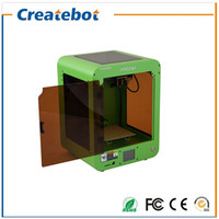 area screen - Newest Createbot Mini d printer Large Printing Area mm Dual extruder Touch Screen D Printer kit printer d printing
