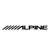 alpine car stickers - Cool graphics Alpine Car Speakers Stereo Creative Car Styling Amplifier Sounds Vinyl Decal Sticker Car Accessories Graphics jdm