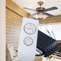 Wholesale OEM ODM Fashion Wireless RF remote fan light switch kit with CE ROHS cert available in meter